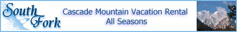 Cascade Mountain Vacation Rental - All Seasons